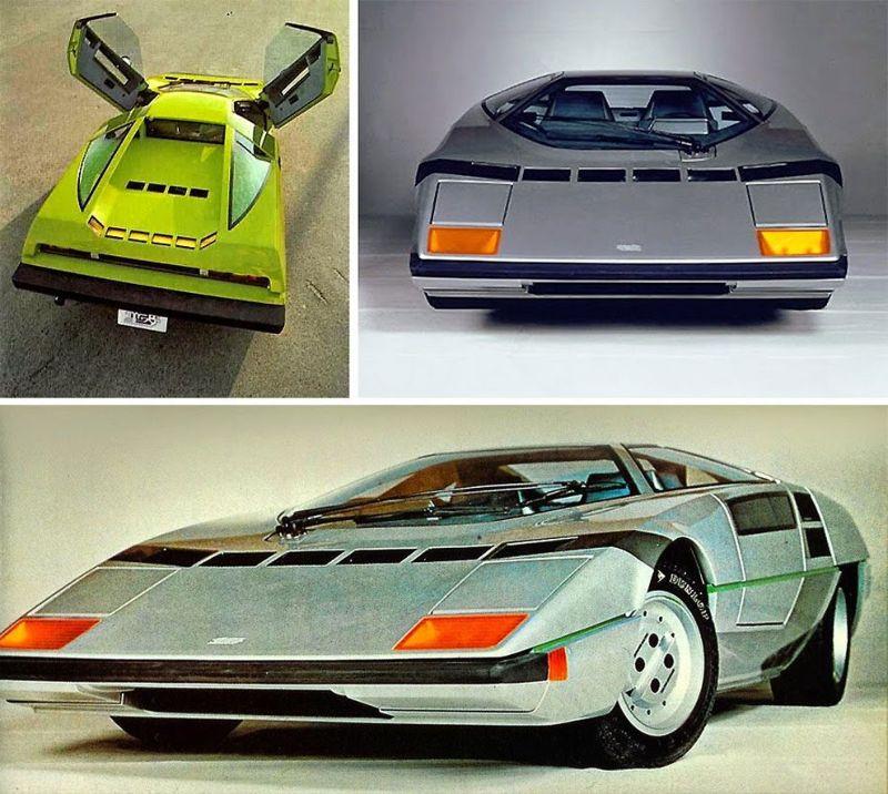 Самые интересные концепт-кары 70-х и 80-х годов прошлого века