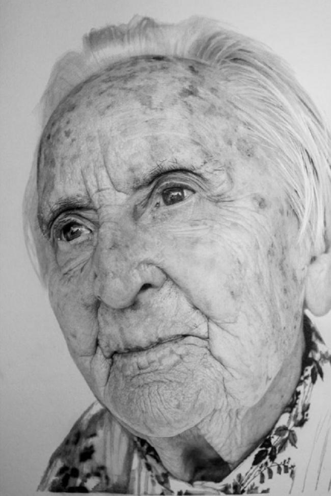 Удивительно реалистичные портреты от Пола Каддена