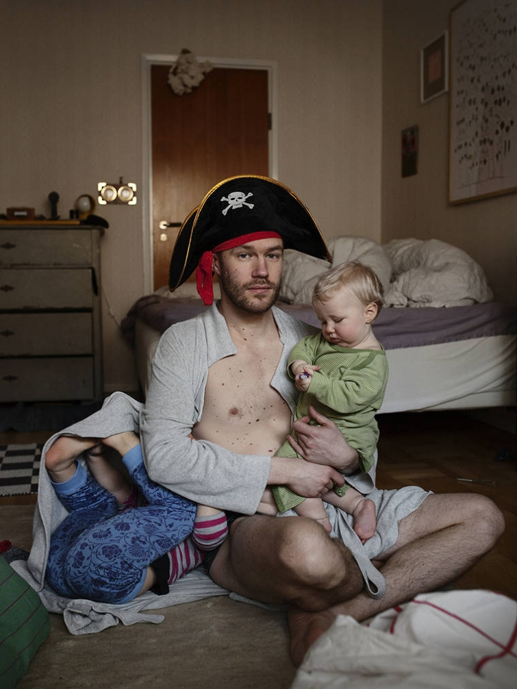 Будни шведских пап, взявших отпуск по беременности и родам