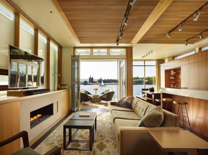 Дом на озере в Сиэтле