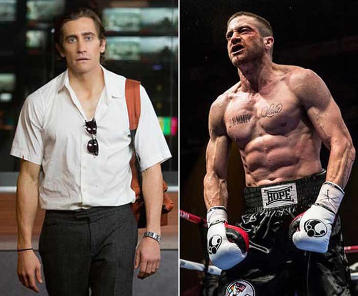 Трансформации актеров для похожести на своих персонажей