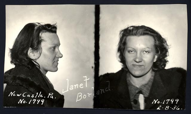 Исторические снимки преступников 1930-1940-х годов