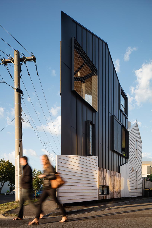 Остроугольный дом в Мельбурне
