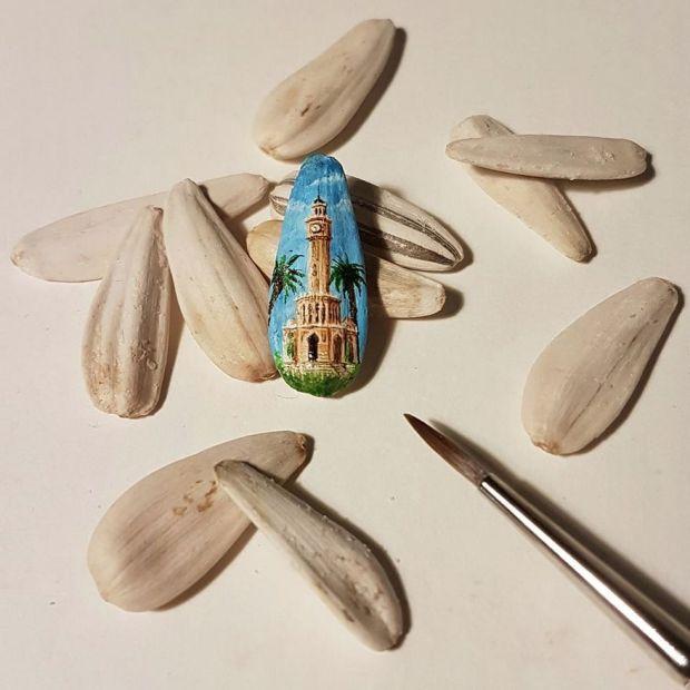 Миниатюрные рисунки на различных предметах от Хасана Кале