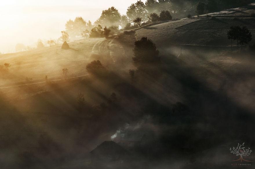 Сказочные осенние фотографии Румынии