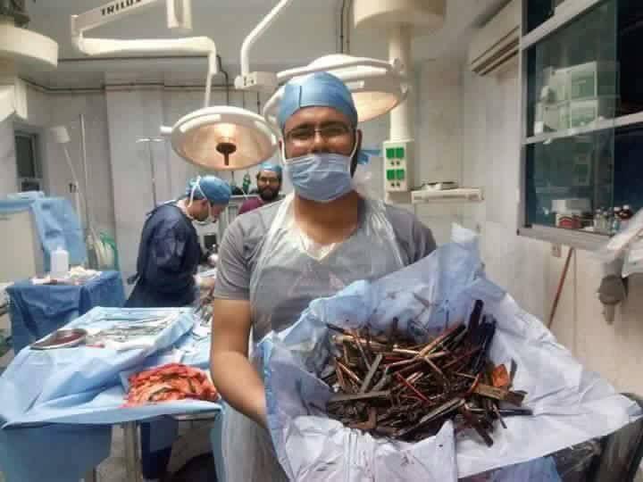Хирургам стоит начать сотрудничать с пунктами приема металла