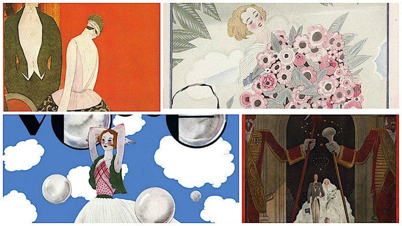 Жорж Лепап, гениальный иллюстратор и обложки Vogue