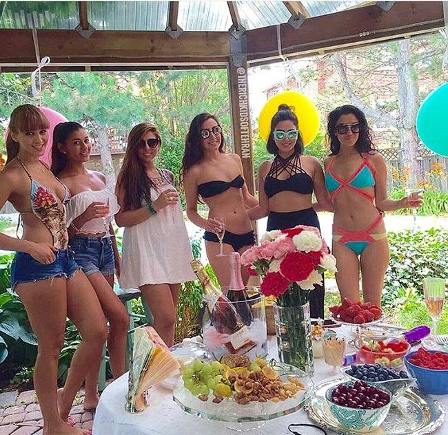 Красивая жизнь золотой молодежи Ирана