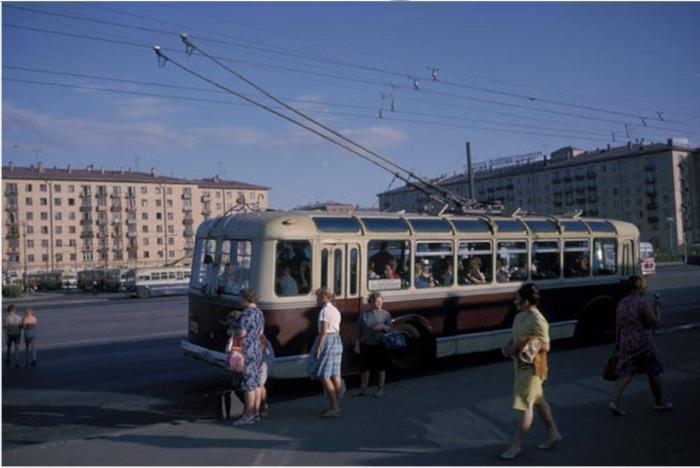 Москва 1959 года в фотографиях Харрисона Формана