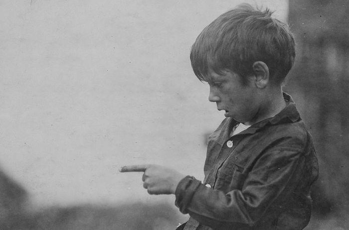 Юные работники рыбных заводов США в начале XX века