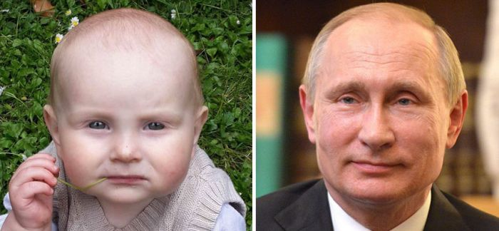 Дети, неожиданно похожие на знаменитостей