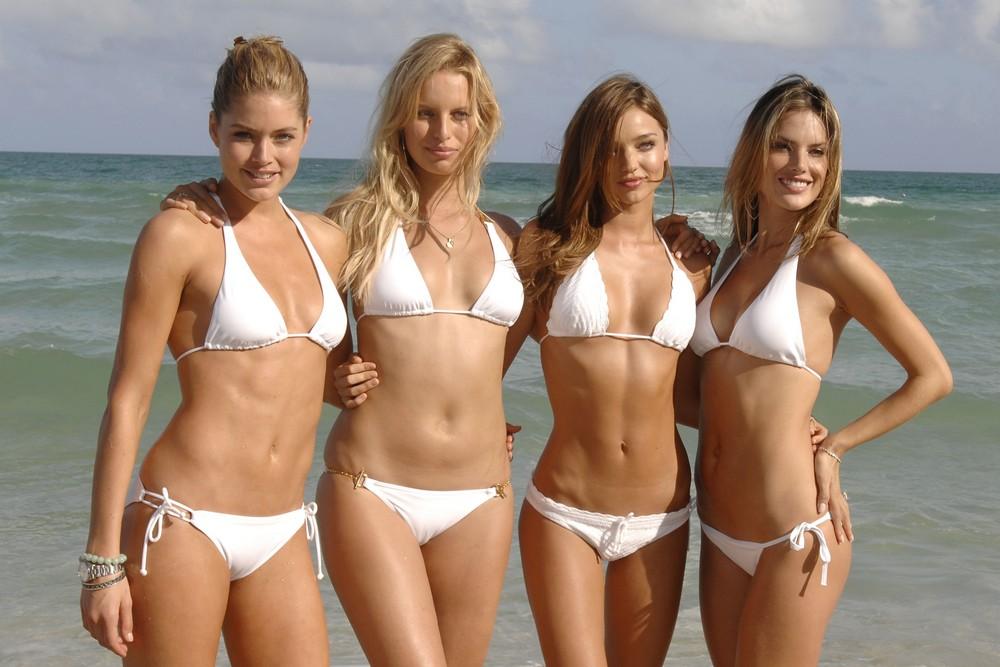 Encasement pantyhose girls