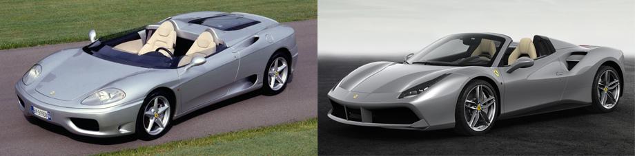 Триста пятьдесят юбилейных Ferrari рассказали свои истории