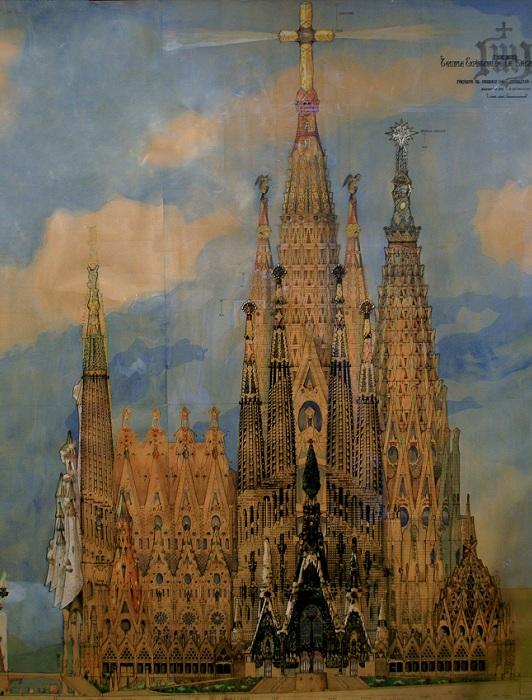 Саграда Фамилия - величайшее творение Антонио Гауди