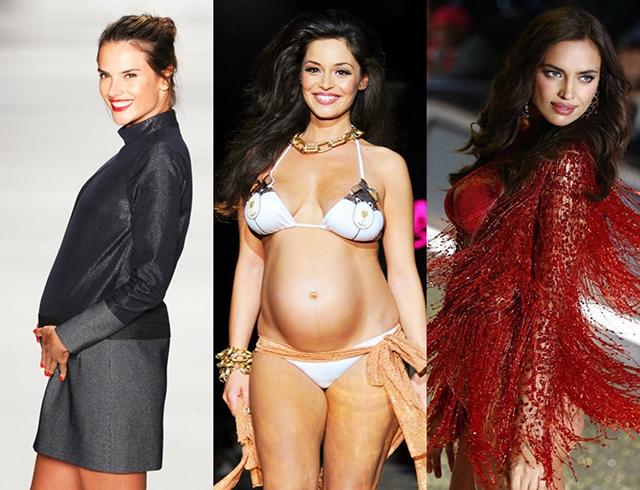 Дефиле в положении: беременные модели, которые выходили на подиум