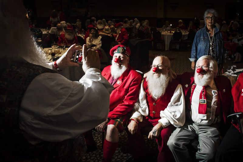 Крупнейший в мире слет Санта-Клаусов