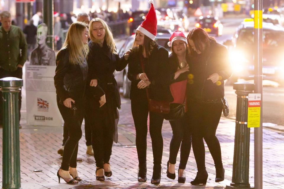 Рождественские вечеринки в Бирмингеме
