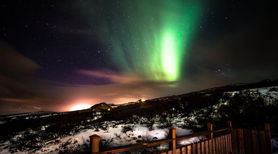 10 мест для встречи Нового года под северным сиянием