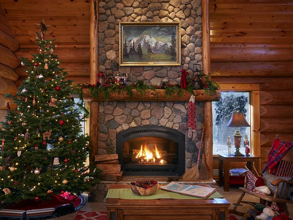 Домик Санта-Клауса на Северном полюсе