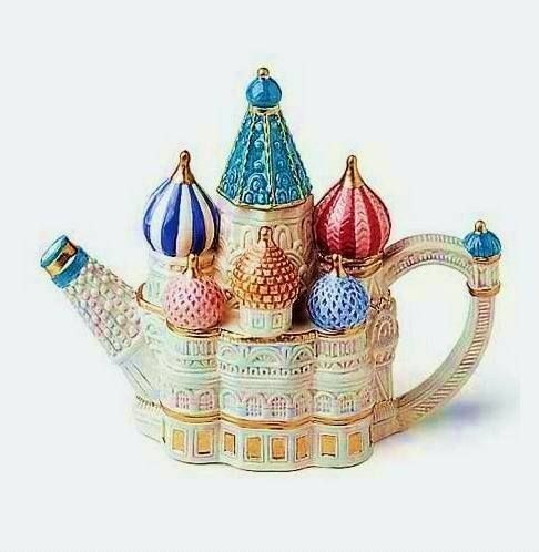 Необычные чайники и немного фактов о чае