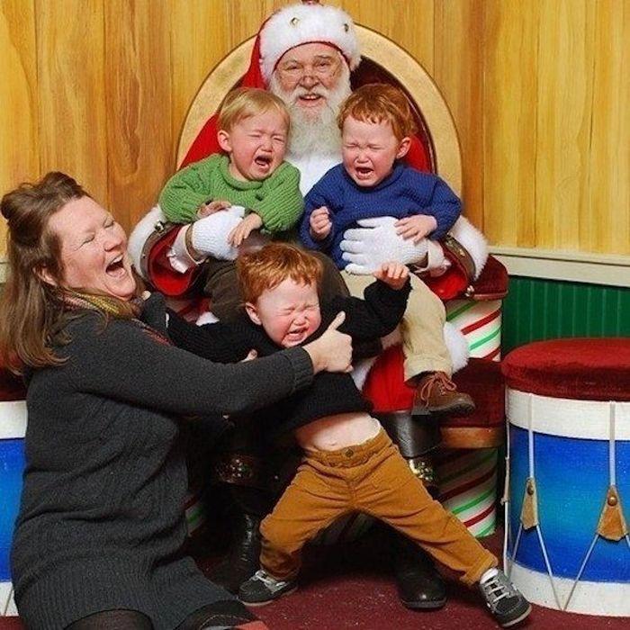 Дети, которые боятся Санта-Клауса