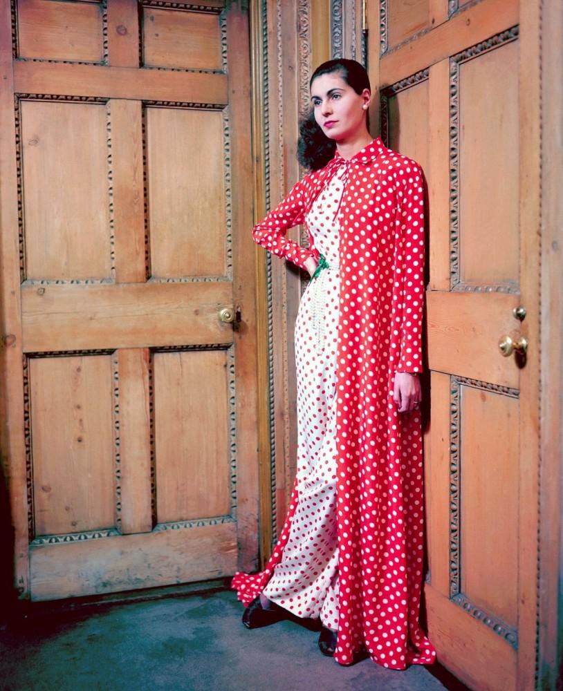 Мода в 40-х в цвете и высоком разрешении