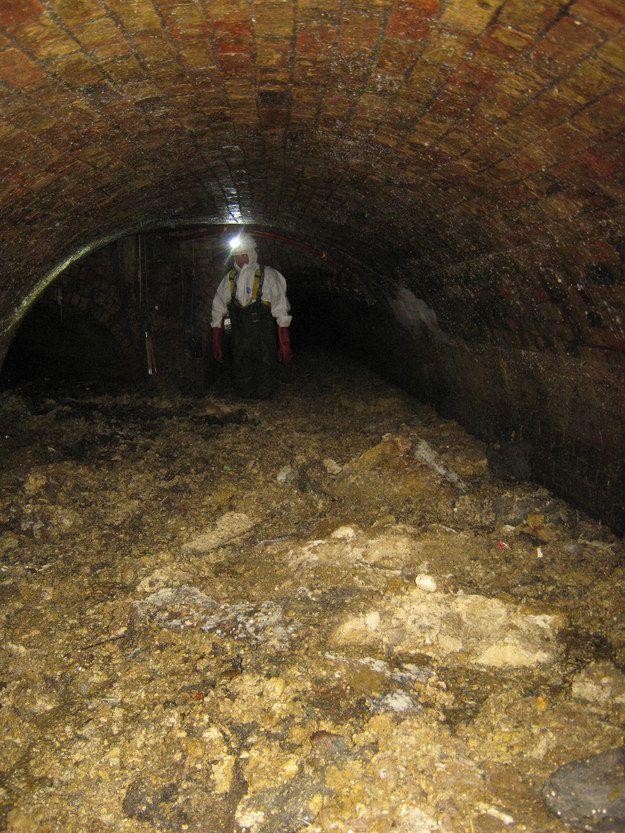 Айсберги из отходов блокируют канализацию британских городов