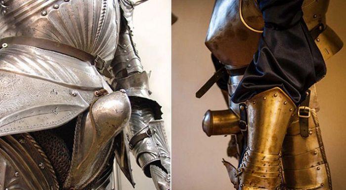 Как средневековые рыцари в доспехах справляли нужду