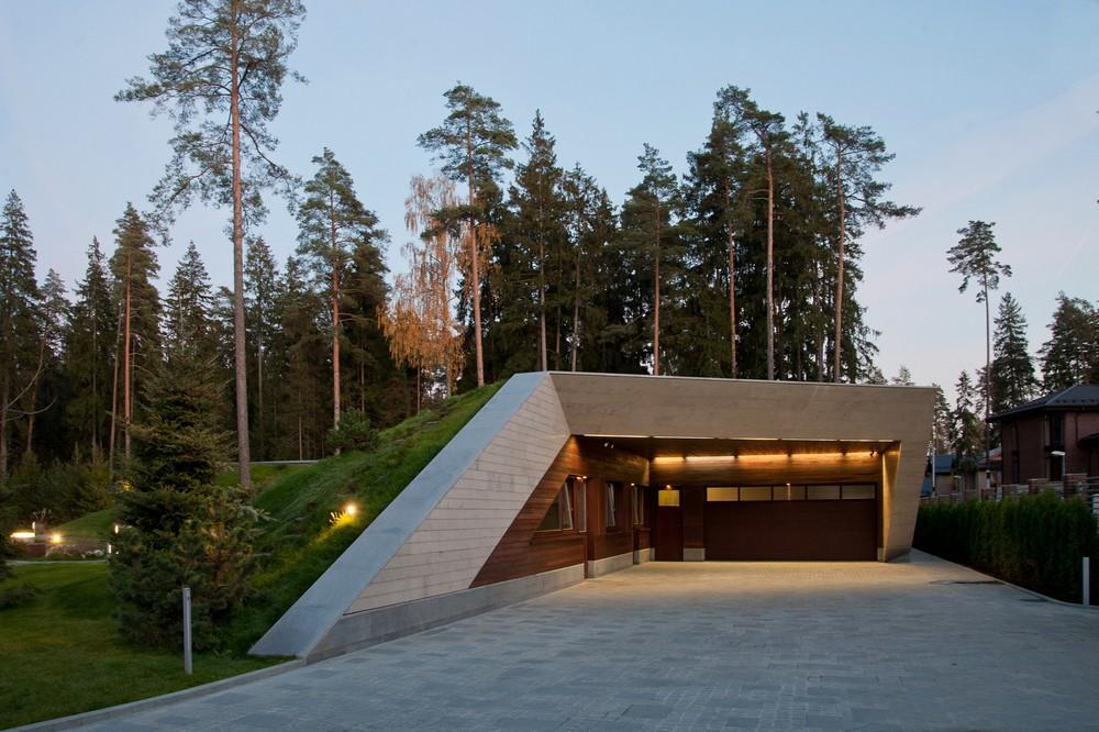 Современная резиденция в Подмосковье