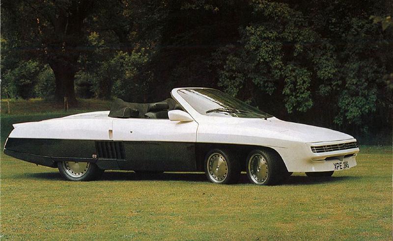 10 удивительных шестиколёсных автомобилей