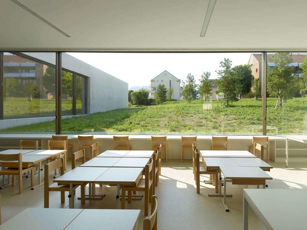 Оригинальный сад-ясли в Швейцарии