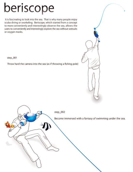 Интересный концепт: дайвинг без погружения