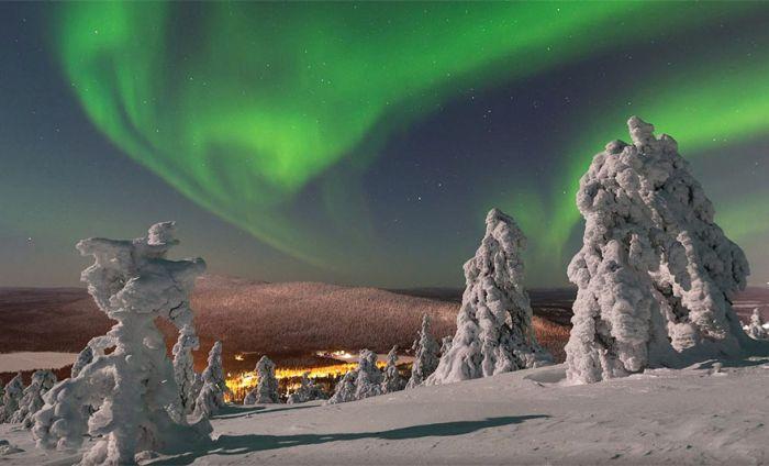 Сказочная красота зимней Лапландии