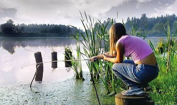 Забавные фото на тему рыбалки