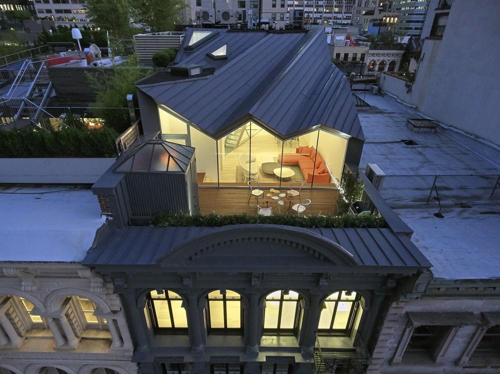 Реконструкция исторического здания в Нью-Йорке