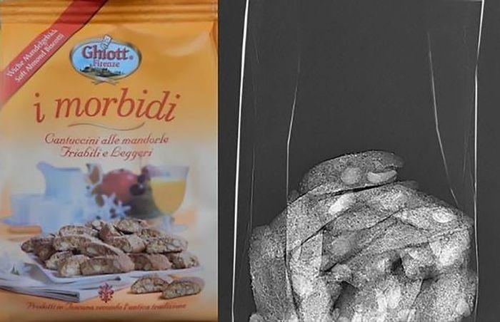 Воздух в пакетах с продуктами питания