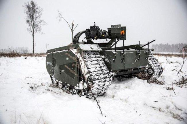 Минитанк с дистанционным управлением для армии Эстонии