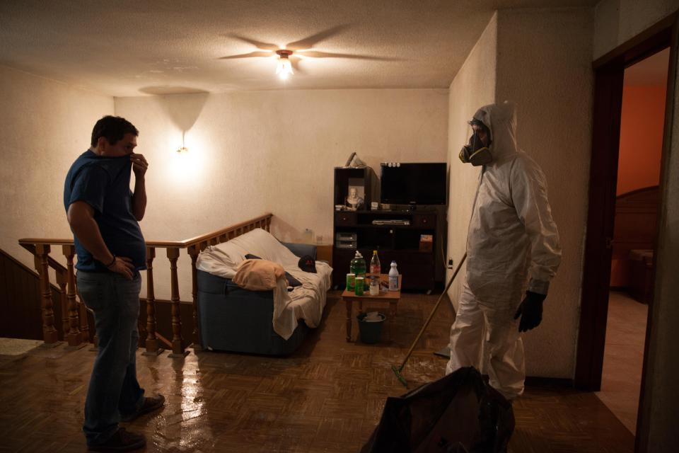 Трудная работенка: уборщик места преступления
