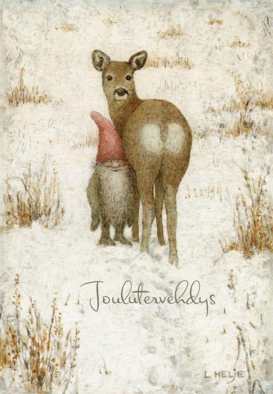 Леннарт Хелье и его рождественские зарисовки