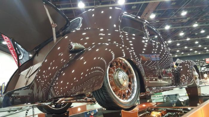 Mercedes 1953 года с американским V8