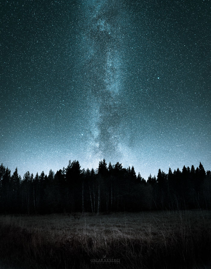 Ночная Финляндия от фотографа Оскара Кесерзи