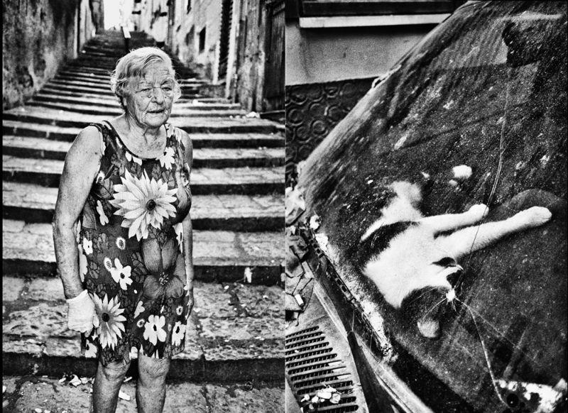 Жизнь в криминальном районе Неаполя