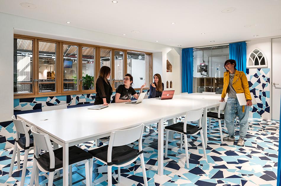 Новый офис Airbnb в Дублине