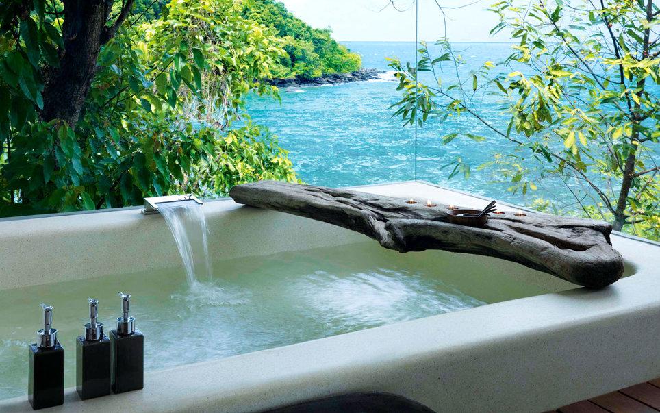 Девять впечатляющих ванн нашей планеты