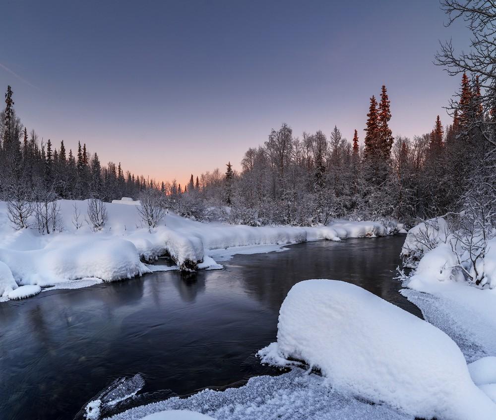 Красота зимних пейзажей от Романа Горячего
