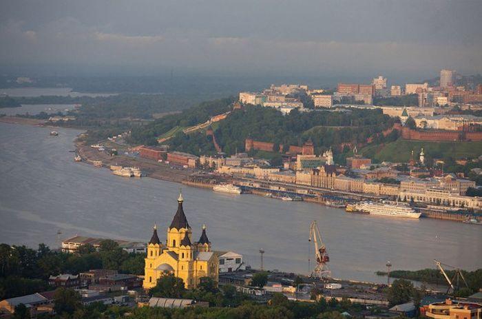 Красоты России с высоты птичьего полета