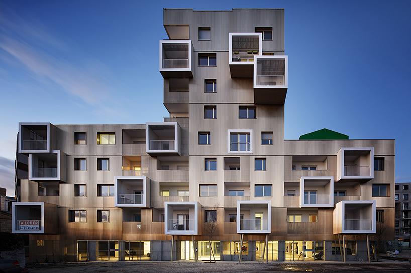 Золотой жилой комплекс в Бордо