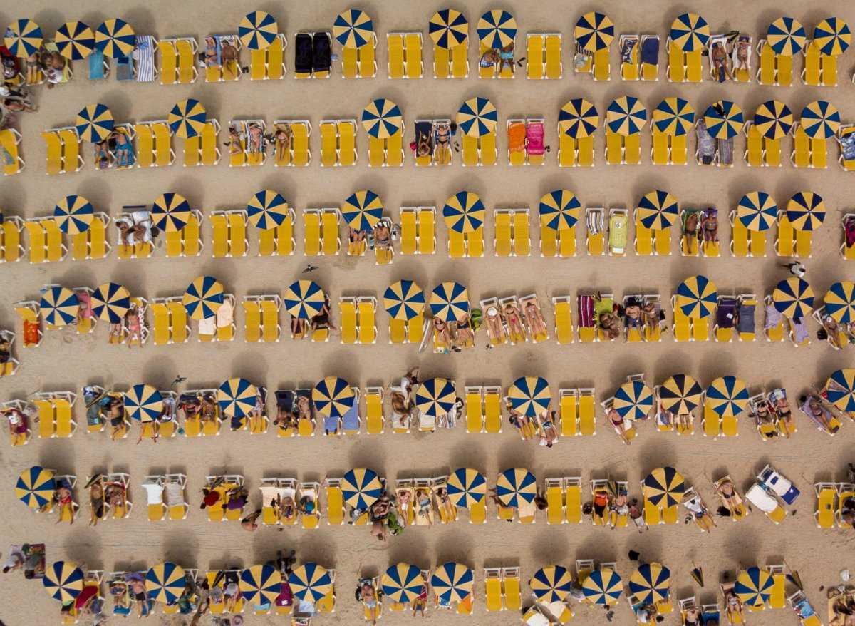 Удивительные снимки, сделанные беспилотниками в 2016 году