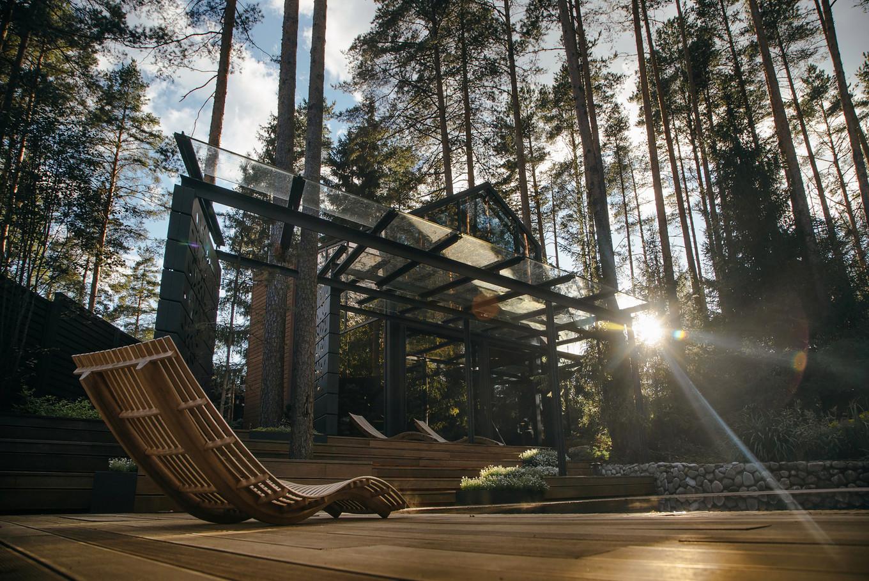 Спортивный павильон в Ленинградской области