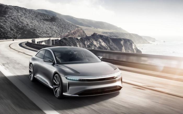 Компания Lucid Motors показала конкурента Tesla Model S